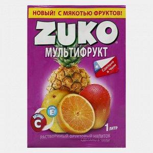 Растворимый напиток ZUKO Мультифрукт 25 г