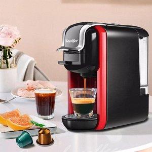 Электрическая кофемашина Sonifer SF-3547 3 в 1 для капсул