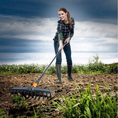 Лучший огород-дача. Подвязки, освещение, парники, удобрения — Большой садовый инструмент