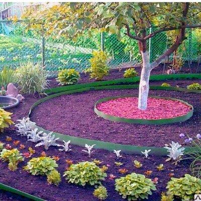 Лучший огород-дача. Подвязки, освещение, парники, удобрения — Бордюрная лента