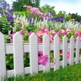 Лучший огород-дача. Подвязки, освещение, парники, удобрения — Декоративные заборы
