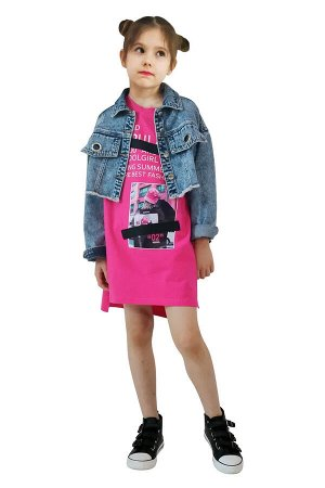 Куртка ДЕВ Страна: Китай Производитель: Deloras Материал: 100% хлопок Пол: ДЕВ Описание товара: Куртка для девочки