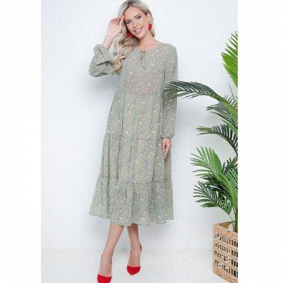 Стильные платья, блузки, юбки Размеры от 42 до 64 — Новинки
