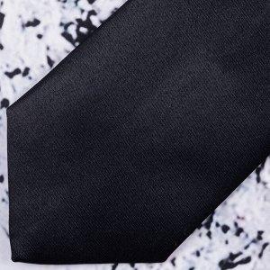 Галстук Цвет: чёрный. Комплектация: галстук. Состав: микрофибра-100%. Бренд: ROMARIO MANZINI. Длина, см: 45. Ширина, см: 6. Фактура: однотонная.