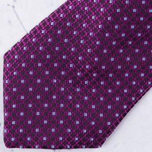 Галстук Цвет: фиолетовый. Комплектация: галстук. Состав: микрофибра-100%. Бренд: Svyatnyh. Длина, см: 45. Ширина, см: 6. Фактура: узор.