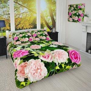 Покрывало 1/008 Гвоздики и розы