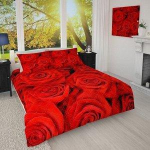 Покрывало 1/008 Красные розы
