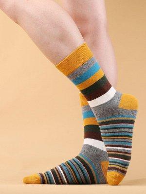 Мужские носки в полоску