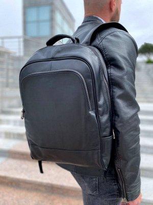 Рюкзак кожаный, унисекс