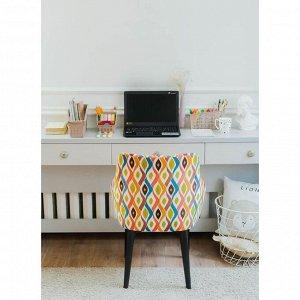Органайзер с перегородками «Лофт», 24,5х9,5х14 см, цвет мокка