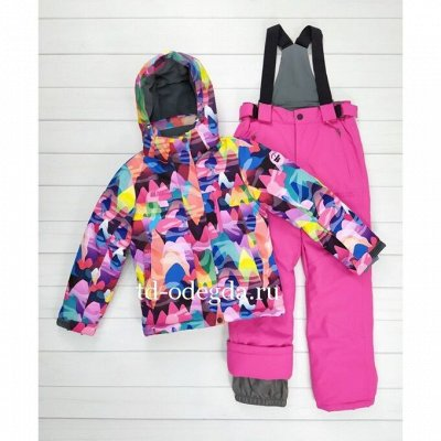 Мембранная детская одежда. Распродажа. Сейчас дешевле — Зима девочки