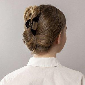 BERIOTTI Краб для волос, пластик, 8см, 2 дизайна, КВ19-25