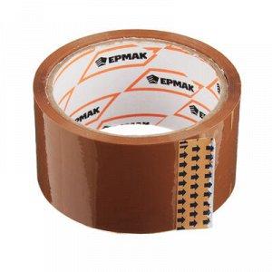 С ЕРМАК Клейкая лента коричневая 48мм x 40м