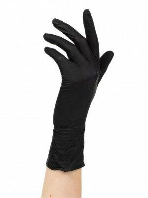 Перчатки винило-нитриловые, черный