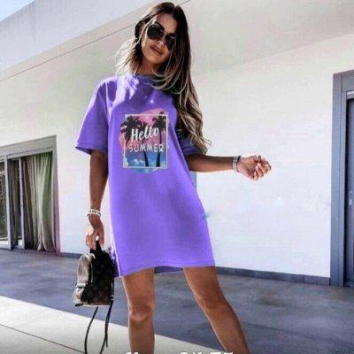 Выгодные летние цены! Яркие футболки и туники — Туники