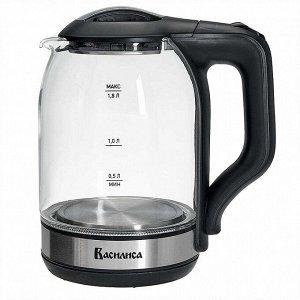Чайник электрический 1500 Вт, 1,8 л ВАСИЛИСА ВА-1036 черный
