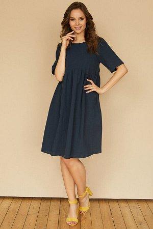 Платье 493/2, темно-синий