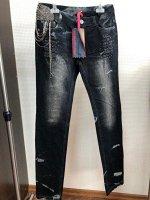 джинсы черный