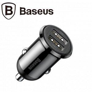 Автомобильное зарядное устройство Baseus / 2 USB, 4.8A