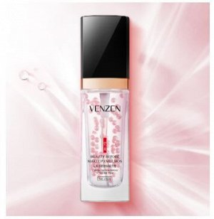 VENZEN Антивозрастная эмульсия - база под макияж,с жемчужной пудрой, Beauty Before MakeUp Emulsion 30мл