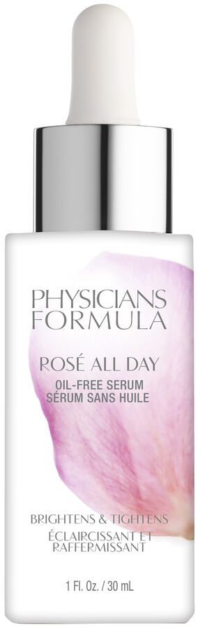 PHYSICIANS FORMULA Сыворотка-Праймер для лица Rose All Day Oil-free Serum, тон розовый