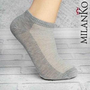 Мужские укороченные носки в сетку MilanKo