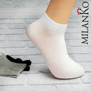 Мужские носки спортивные укороченные (узор 4) milanko
