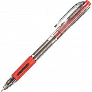 Ручка шариковая автоматическая Unimax Fab GP 0,7мм, красн, масл,...