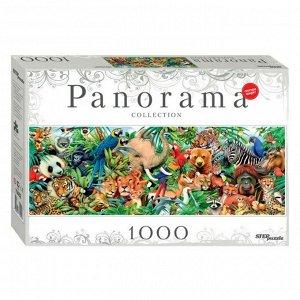 Пазл 1000 эл. Мир животных Panorama арт.79402