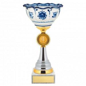 Кубок российские традиции 28 см KM2576b