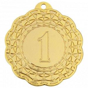 Медаль 1 место 42 мм золото DC#MK350a-G