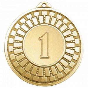 Медаль 1 место 50 мм золото DC#MK341a-G