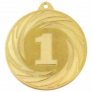 Медаль 1 место 70 мм золото DC#MK311a-G