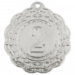 Медаль 2 место 42 мм серебро DC#MK350b-S