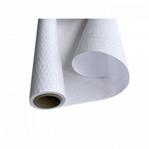 Бумага упаковочная Крафт-бумага сотовая в рулоне 2м, белая 1000210