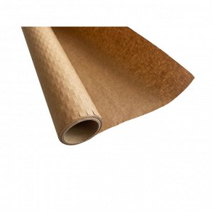 Бумага упаковочная Крафт-бумага сотовая в рулоне 2м, коричневая 1...
