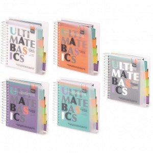 Блокнот Ultimate basics А6 150л. разд.,клет.3-150-377 Альт 10шт/уп.