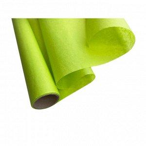 Бумага упаковочная оберточная в рулоне 5м, зеленая 1100513