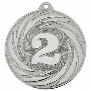 Медаль 2 место 70 мм серебро DC#MK311b-S