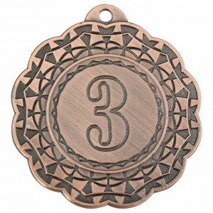 Медаль 3 место 42 мм бронза DC#MK350c-AB