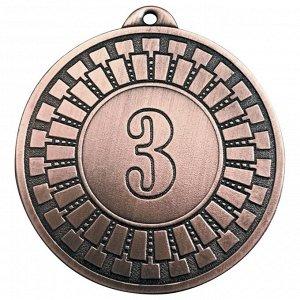 Медаль 3 место 50 мм бронза DC#MK341c-AG