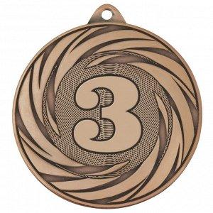 Медаль 3 место 70 мм бронза DC#MK311c-AB