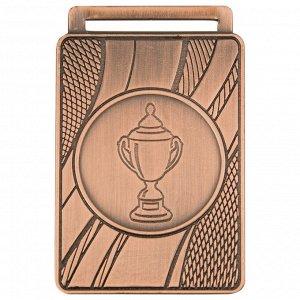 Медаль кубок 50x35 мм бронза DC#MK357c-AG