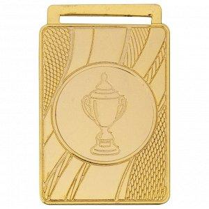 Медаль кубок 50x35 мм золото DC#MK357a-G