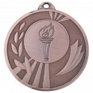 Медаль факел 50 мм бронза DC#MK285c-AB