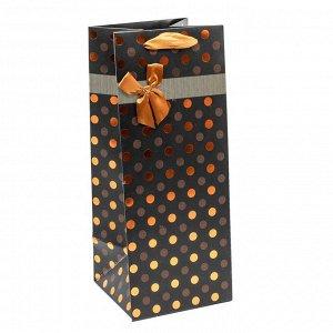 Пакет подарочный ламинир Леди с тиснением (микс) 14х35х14 арт.000...