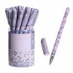 "Ручка шариковая HappyWrite ""Sweet animals.Енотики"", 0,5 мм, синие чернила"