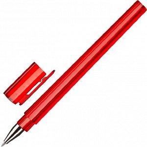 Ручка шариковая Attache Тетра синяя, 0,5мм, цвет корпуса в асс.