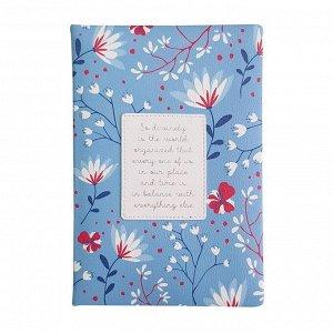 Ежедневник недатированный синий, А5, 160л., Romantic AZ1082/dark-...