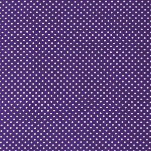 Ткань бязь плательная 150 см 1590/12 цвет фиолетовый
